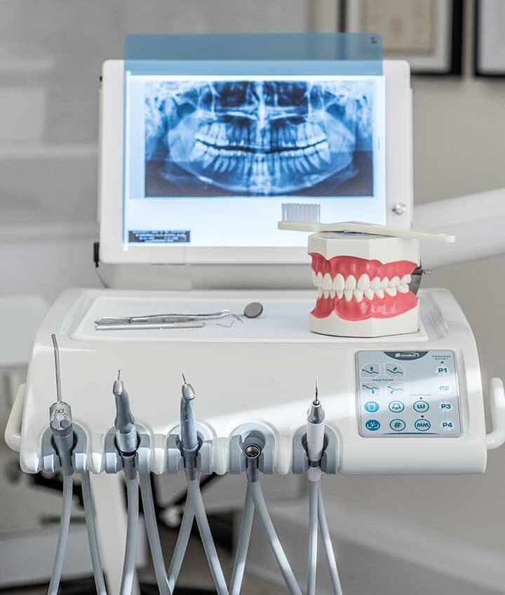 Άποψη οδοντιατρείου Τανιώνου Βασιλικής